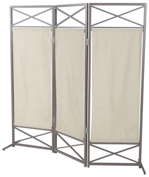 Biombo de aluminio naterial roma ref 15301825 leroy merlin for Biombo exterior para jardin