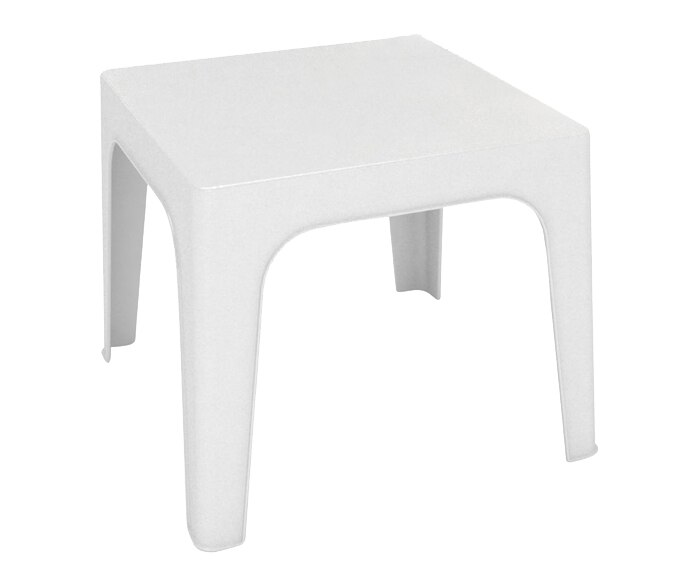 Mesa de resina m naco blanco ref 16153354 leroy merlin - Mesa resina leroy merlin ...