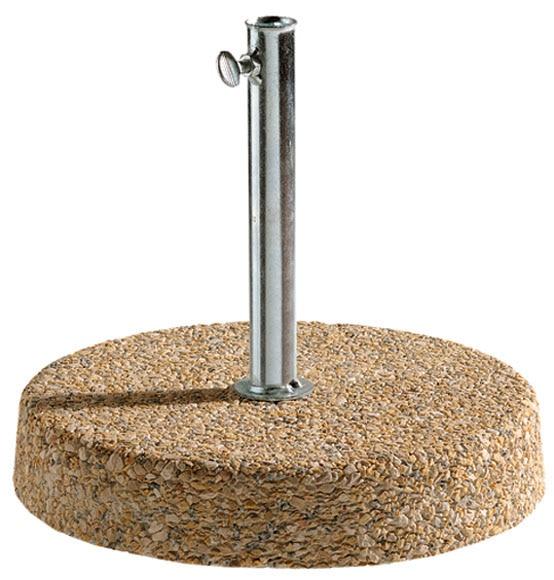 Pie de parasol hormig n 24 kg ref 15710142 leroy merlin for Bordillos de hormigon leroy merlin