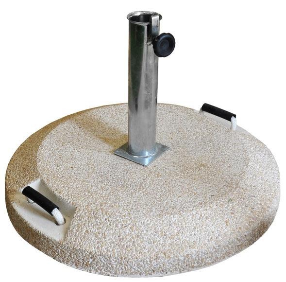 Pie de parasol hormig n 55 kg ref 15710212 leroy merlin for Bordillos de hormigon leroy merlin