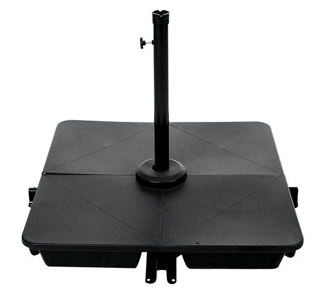 Pie de parasol rellenable resina 70 kg ref 15955394 leroy merlin - Pied parasol roulettes leroy merlin ...