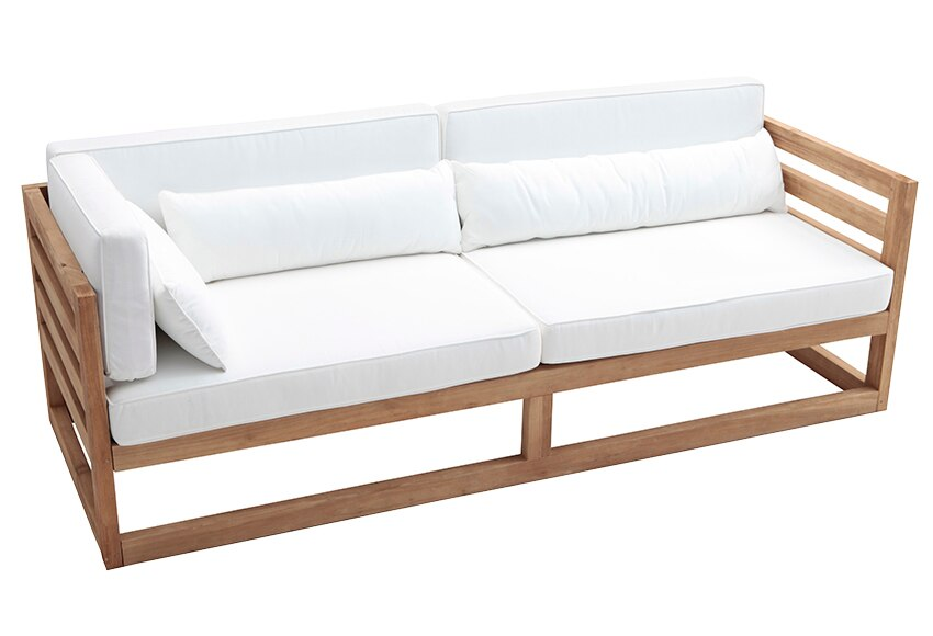 Sofa madera materiales de construcci n para la reparaci n for Sofa terraza madera