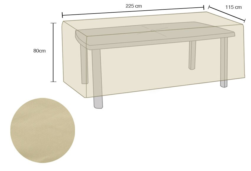 Funda protectora para muebles de jard n pictures to pin on - Fundas muebles jardin ...