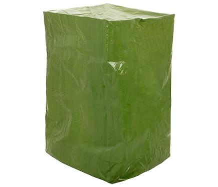 Funda para pila de sillas rafia verde ref 17564533 for Fundas para sillas comedor leroy merlin