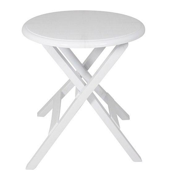 Conjunto de sillas y mesa en resina blanco car interior - Sillas de resina ...