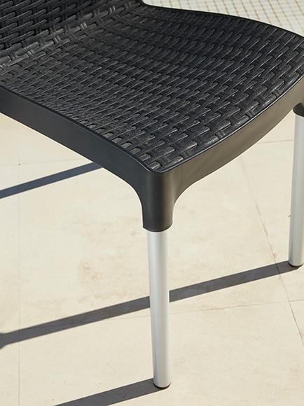 Set de aluminio SET RESINA BISTRO CHELSEA Ref. 17370290 - Leroy Merlin