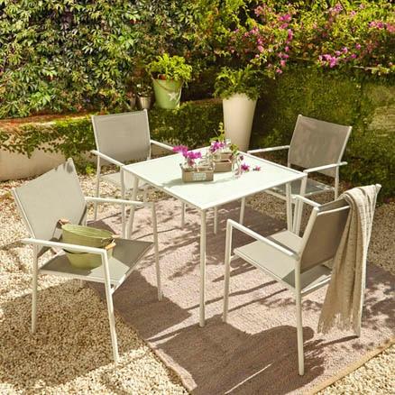 Conjuntos de muebles para balc n leroy merlin for Muebles de terraza leroy merlin