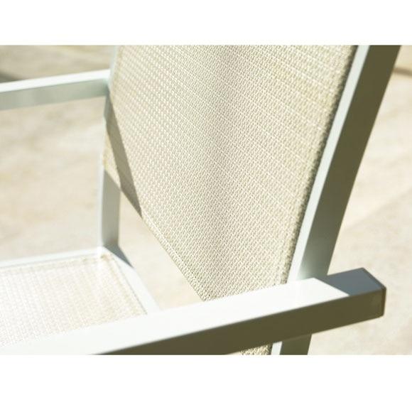 Conjunto de aluminio olivia blanco ref 010113 17805333 for Conjuntos de jardin leroy merlin
