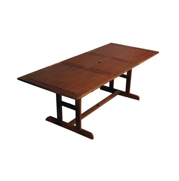 Conjunto de madera de acacia acacia extensible 150 210 ref - Mesa acacia extensible ...