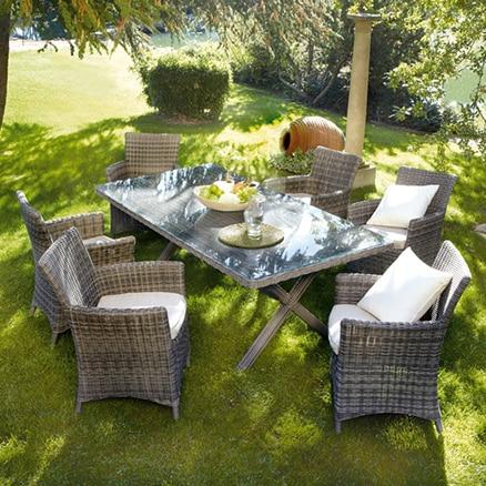 Conjuntos de mesas y sillas leroy merlin for Conjuntos de jardin