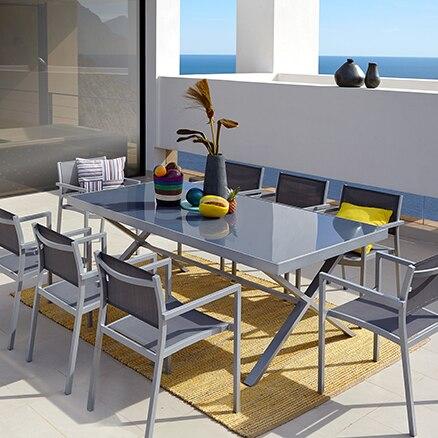 Conjuntos de muebles para comer leroy merlin Sillas terraza leroy merlin
