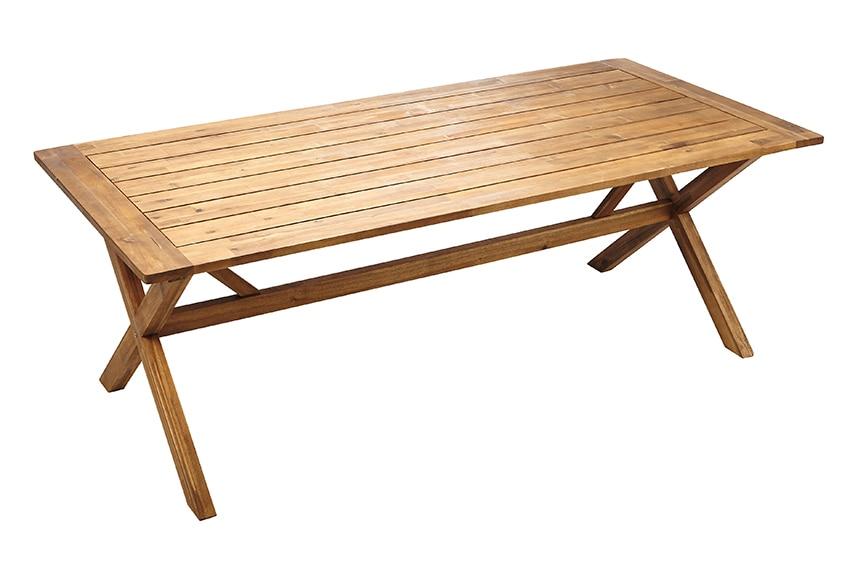 Conjunto de madera de acacia y rat n sint tico congo ref for Leroy merlin prato sintetico