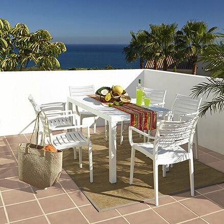 Conjuntos de muebles para comer leroy merlin - Muebles de jardin de resina ...