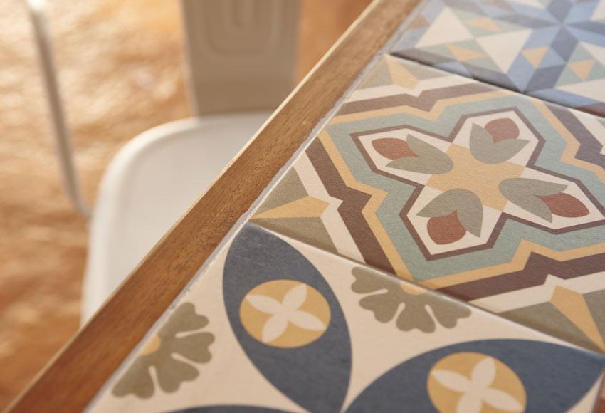 Conjunto madera y metal soho cer mica ref 010114 19188141 - Maquina de cortar azulejos leroy merlin ...
