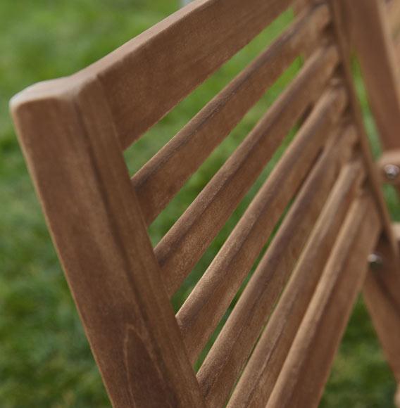 Conjunto madera de teca PAULA Ref. 010114_19202372 - Leroy Merlin