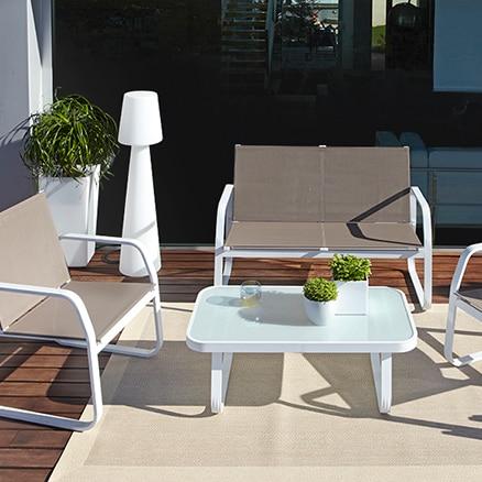 Conjuntos de muebles con mesa baja leroy merlin - Leroy merlin conjunto jardin niza argenteuil ...