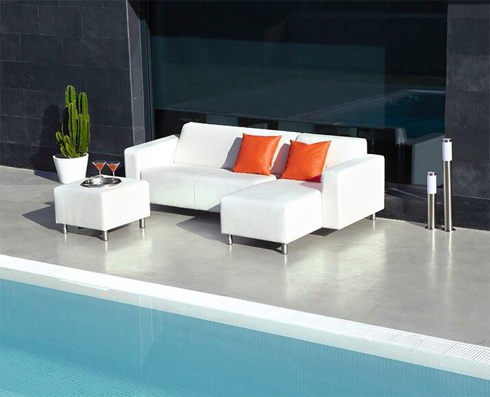 Conjunto de porche n utico casc is ref 010115 17007424 for Tela sofa exterior