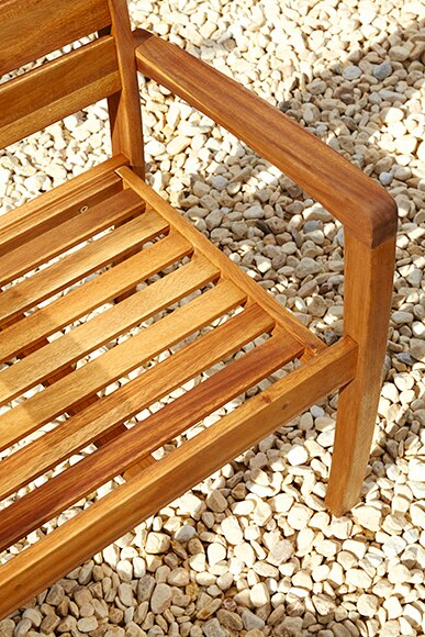 set de madera de acacia porto ref 17238725 leroy merlin. Black Bedroom Furniture Sets. Home Design Ideas