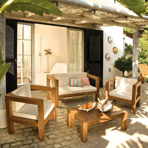 Porches de madera leroy merlin amazing prgola exterior de - Porches leroy merlin ...