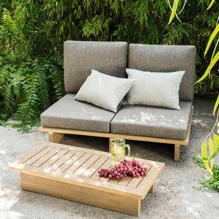 Conjuntos de sof s y mesa baja leroy merlin for Armario jardin leroy merlin