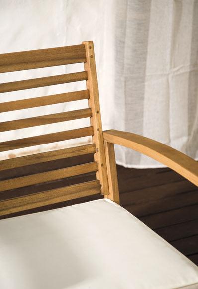 set de madera de acacia porto ref 19323115 leroy merlin. Black Bedroom Furniture Sets. Home Design Ideas