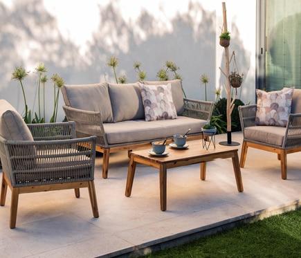 Cómo elegir los muebles ideales para la terraza