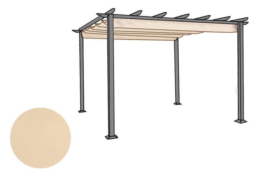 Toldo para p rgola excelence ref 13813373 leroy merlin for Accesorios para toldos de balcon