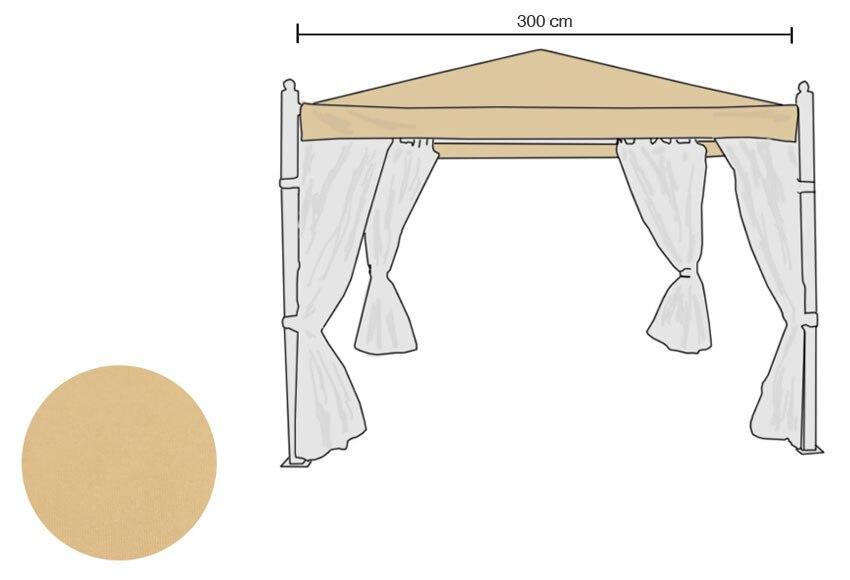 Toldo para p rgola imitaci n madera ref 13816880 leroy for Toldos para pergolas leroy merlin