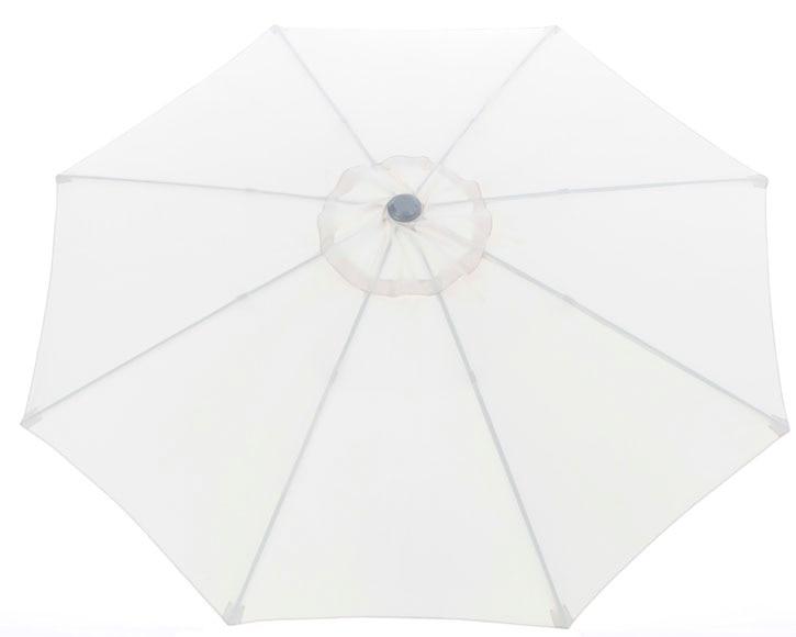 Toldo para parasol crudo ref 14698670 leroy merlin for Recambios de telas para toldos