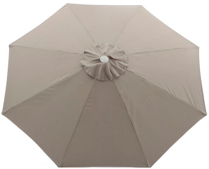 Toldo para parasol tostado ref 14698712 leroy merlin - Rode leroy merlin parasol ...