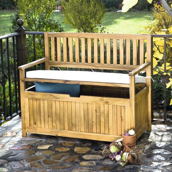 Banco de madera asturias ref 17856125 leroy merlin - Bancos de jardin de madera ...