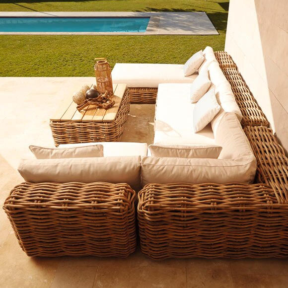 Sofas De Ratan Great Mobiliario De Jardim Em Ratan Mobiliario De