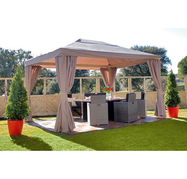 p rgola de aluminio granada 4x3 ref 14060046 leroy merlin. Black Bedroom Furniture Sets. Home Design Ideas