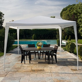 Gazebo Naterial BASIC 3X3 BLANCO