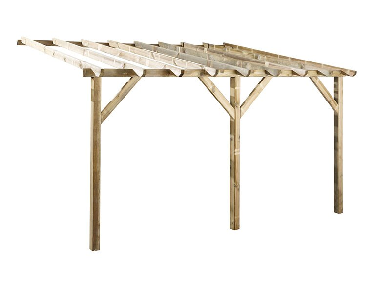 porche de 4 x 3 m etreta ref 16280096 leroy merlin. Black Bedroom Furniture Sets. Home Design Ideas