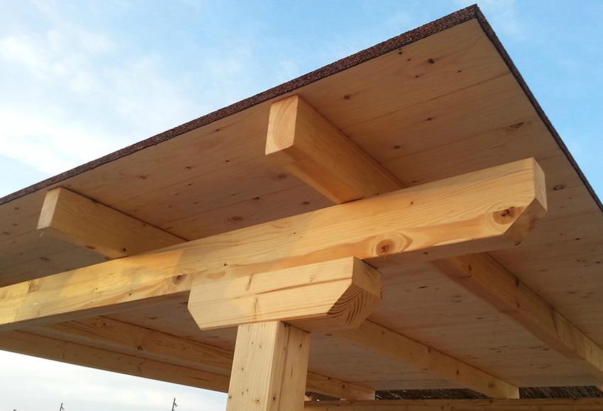 C mo hacer una cochera comunidad leroy merlin - Tablones de madera leroy merlin ...
