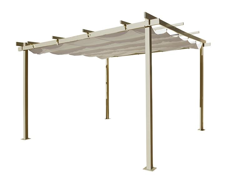 P rgola de aluminio elegance ref 13433035 leroy merlin - Pergolas para jardin baratas ...