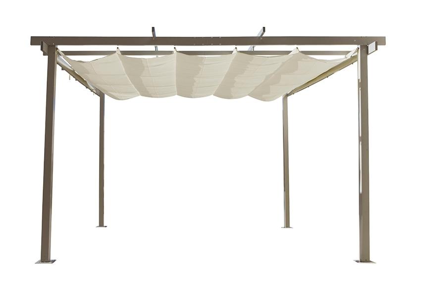 P rgola de aluminio elegance ref 13433035 leroy merlin - Pergolas metalicas baratas ...