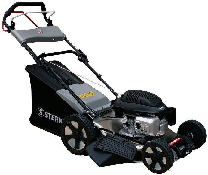 Cortac sped de gasolina sterwins 52ht hws inox ref - Cortacesped de gasolina ...
