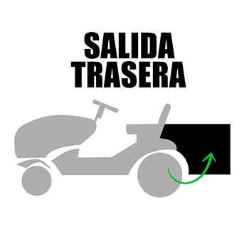 Tractores cortacesped leroy merlin for Water salida trasera
