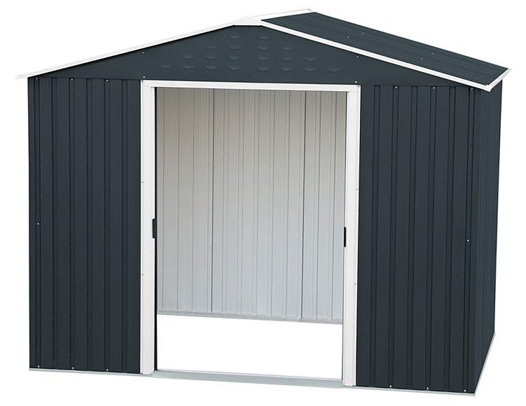 caseta de acero de 2 61 x 1 80 m titan 8x6 ref 13550642. Black Bedroom Furniture Sets. Home Design Ideas