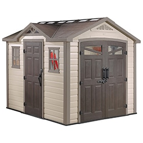 Keter infinity shed 8x6 sheds plan for building - Canvas tuin leroy merlin ...