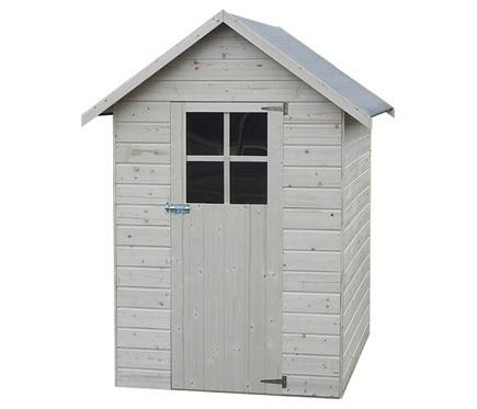 Caseta de madera de pino de 1 49 x 1 82 m anetta ref - Casetas para perros baratas leroy merlin ...