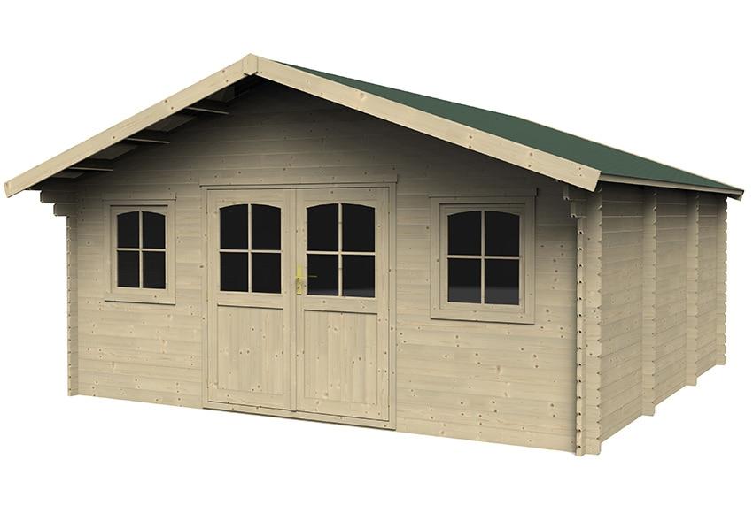 caseta de madera de abeto de 5 17 x 5 35 m valograde ref