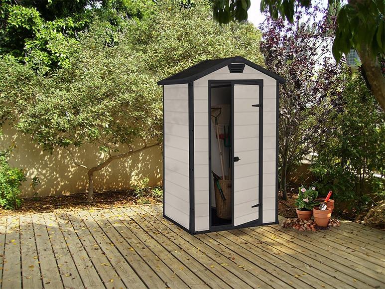 Caseta de resina de 1 28 x 0 94 m naterial lineus 4x3 ref for Caseta resina jardin