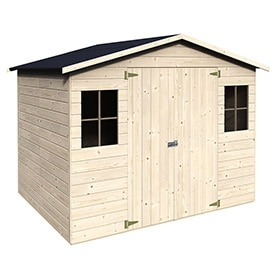 Casetas de exterior leroy merlin for Casetas aluminio para terrazas