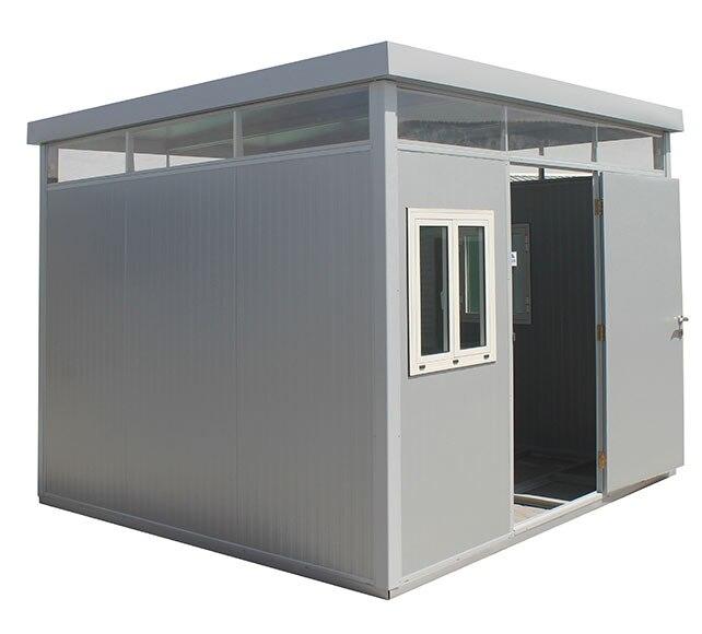 Caseta de acero de 3 19 x 2 57 m cabina 3x3m ref 18087104 for Caseta acero galvanizado