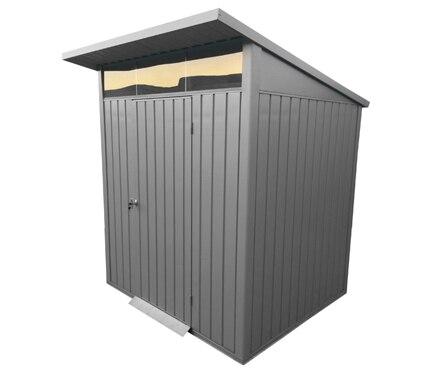Caseta de acero de 1 99 x 1 88 m palladium 6x5 ref for Caseta acero galvanizado