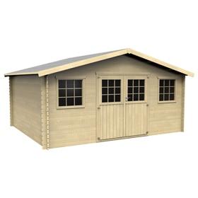 Casetas de exterior leroy merlin for Casas de madera jardin leroy merlin