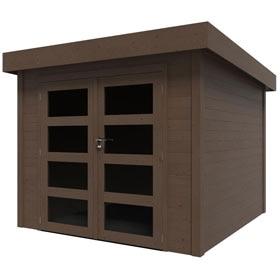 Casetas de exterior leroy merlin for Cobertizos de madera leroy merlin